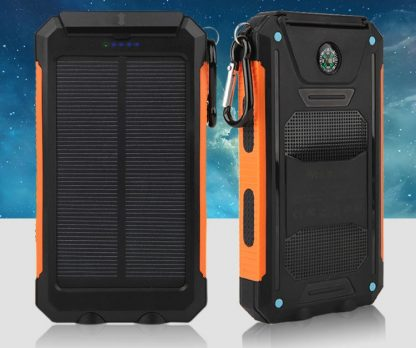 Chargeur solaire compact pour camping