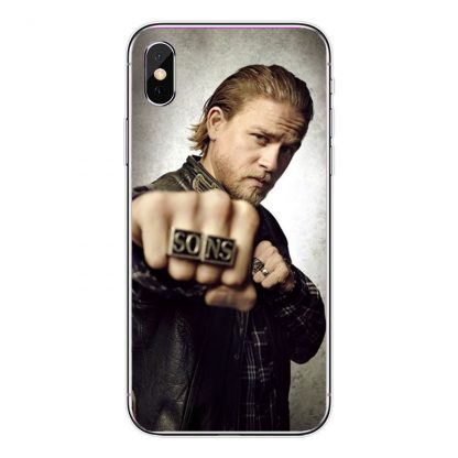 Coque silicone Iphone Sons of Anarchy 5